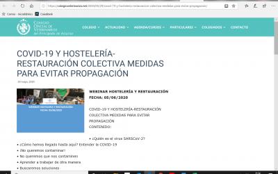WEBINAR HOSTELERÍA Y RESTAURACIÓN