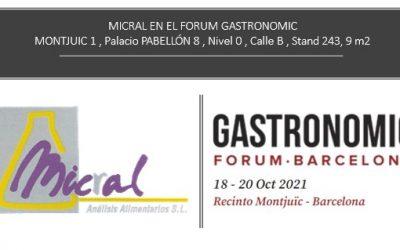 MICRAL EN EL FORUM GASTRONOMIC DE BARCELONA